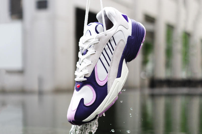 Dragon Ball Z x adidas Originals Yung 1 Running White Purple
