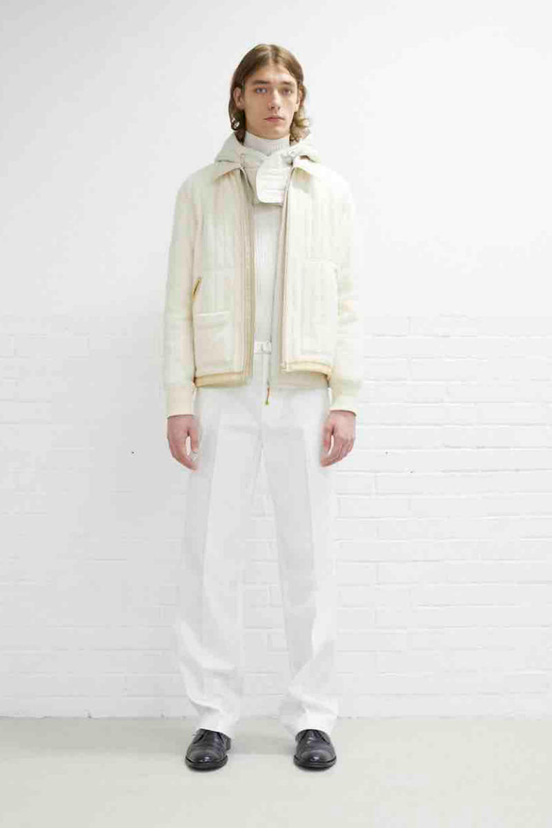 Helmut Lang Pre-Fall 2019 Lookbook Collection Minimal Muted Tones Utility Wear Workwear