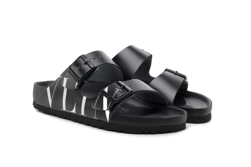 Valentino Reveals Birkenstock Collaboration Paris Fashion Week Mens Arizona Sandal