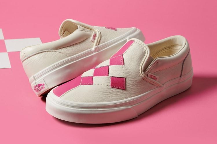 175a5e070e Vans  Checkerboard Slip-Ons Get a Chic Woven Update