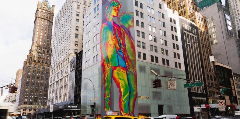 f1f34b9acaae Virgil Abloh x Louis Vuitton SS19 Art in NYC