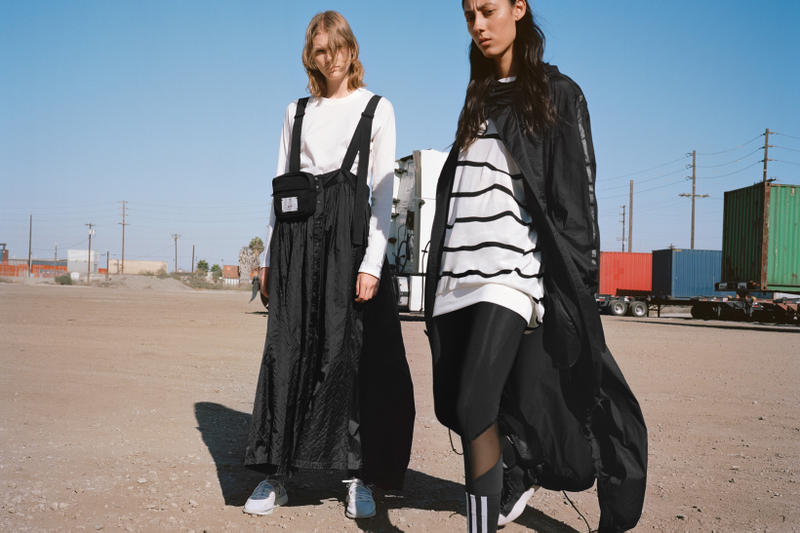 Y-3 Spring Summer 2019 Campaign Shirts White Dress Jacket Black