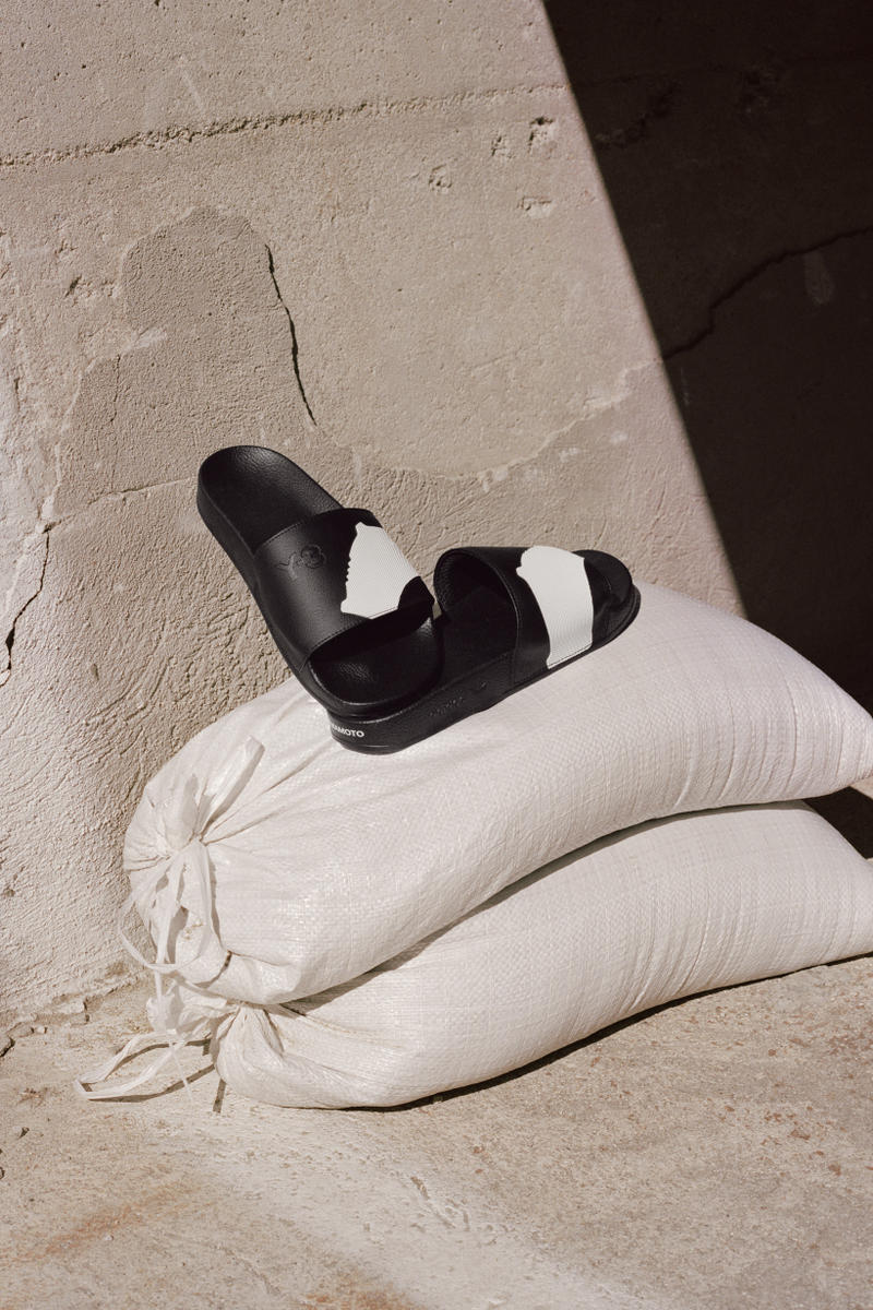 Y-3 Spring Summer 2019 Campaign Slides Black White