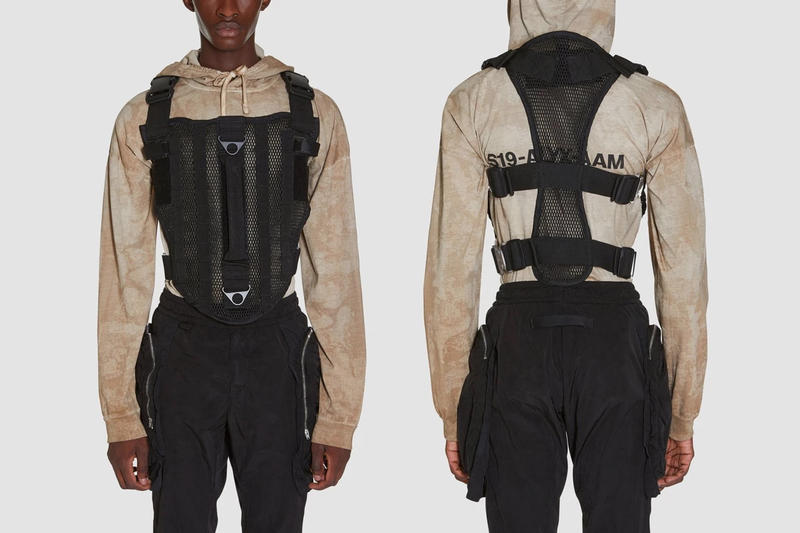 Pre-Order 1017 ALYX 9SM's SS19 Collection Here Matthew Williams ALYX Buckle Necklace Fashion Collection Chest Rig