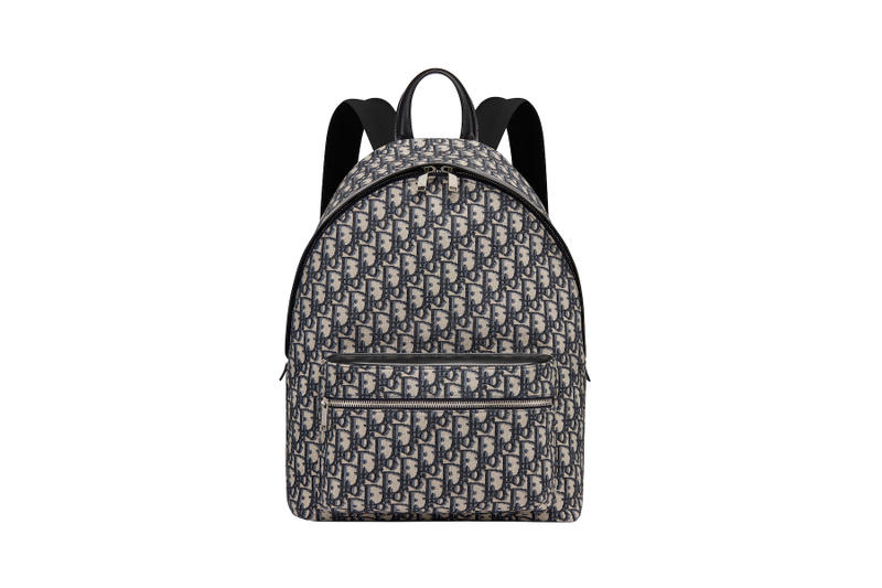 Dior Oblique Men's Accessories Monogram Release Kim Jones Christian Dior Converse Sneaker Backpack Saddle Bag
