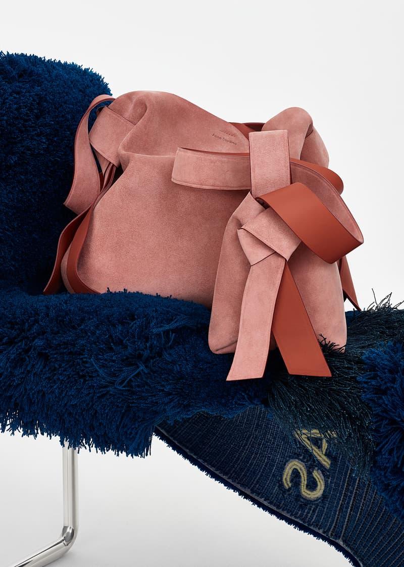 acne studios spring summer 2019 ss19 handbag bag musubi pink