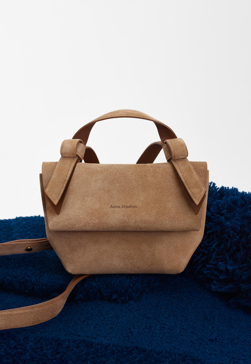 acne studios spring summer 2019 ss19 handbag bag musubi brown