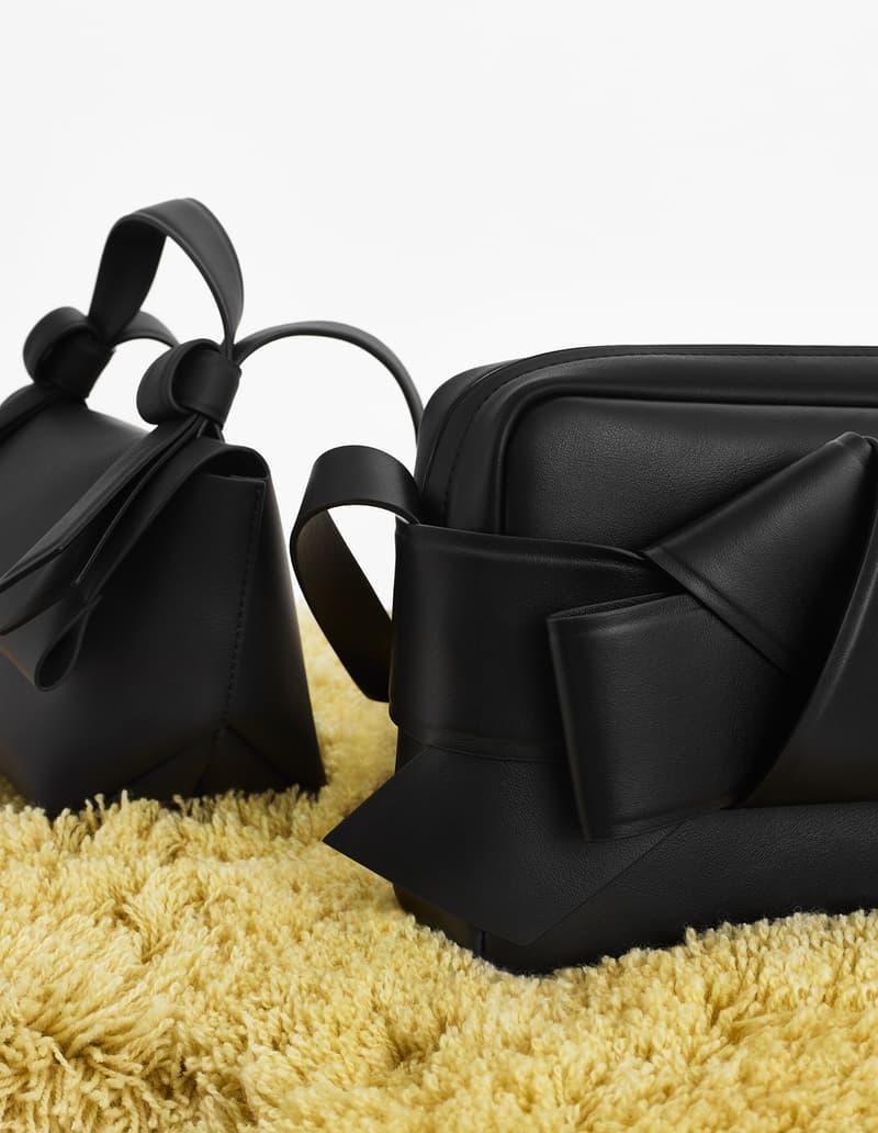 acne studios spring summer 2019 ss19 handbags bags musubi black