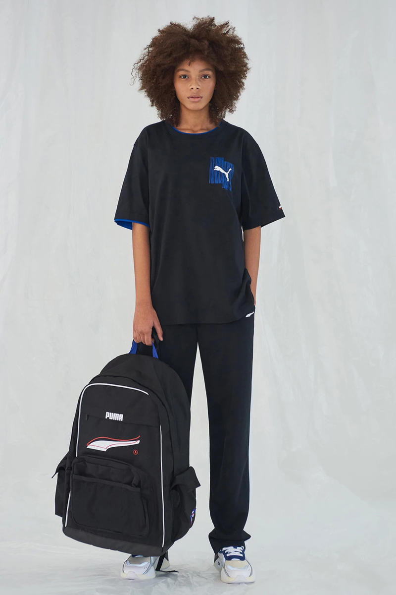 Ader Error x PUMA Spring Summer 2019 Lookbook T-shirt Pants Black