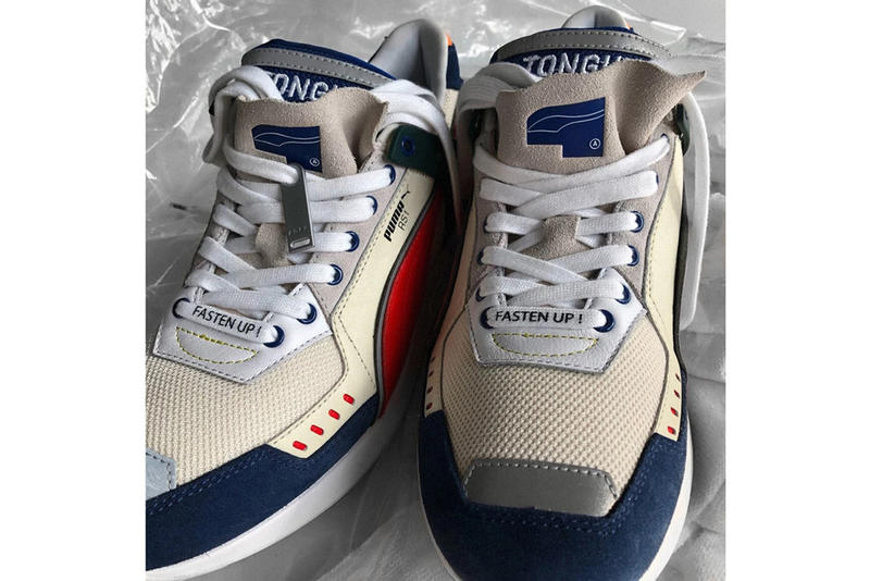 Ader Error x PUMA Spring Summer 2019 Teaser RS-1 Tan Blue Red