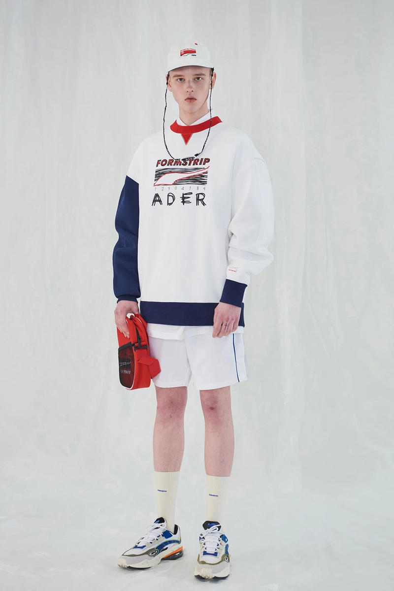 Ader Error x PUMA Spring Summer 2019 Lookbook Shirt Shorts White