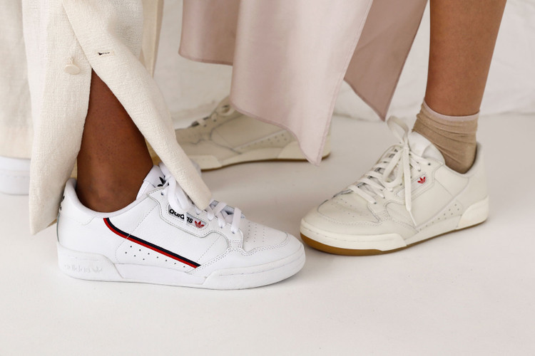 los angeles 4950e baa9c NAKEDs New Editorial Highlights adidas Classic Continental 80