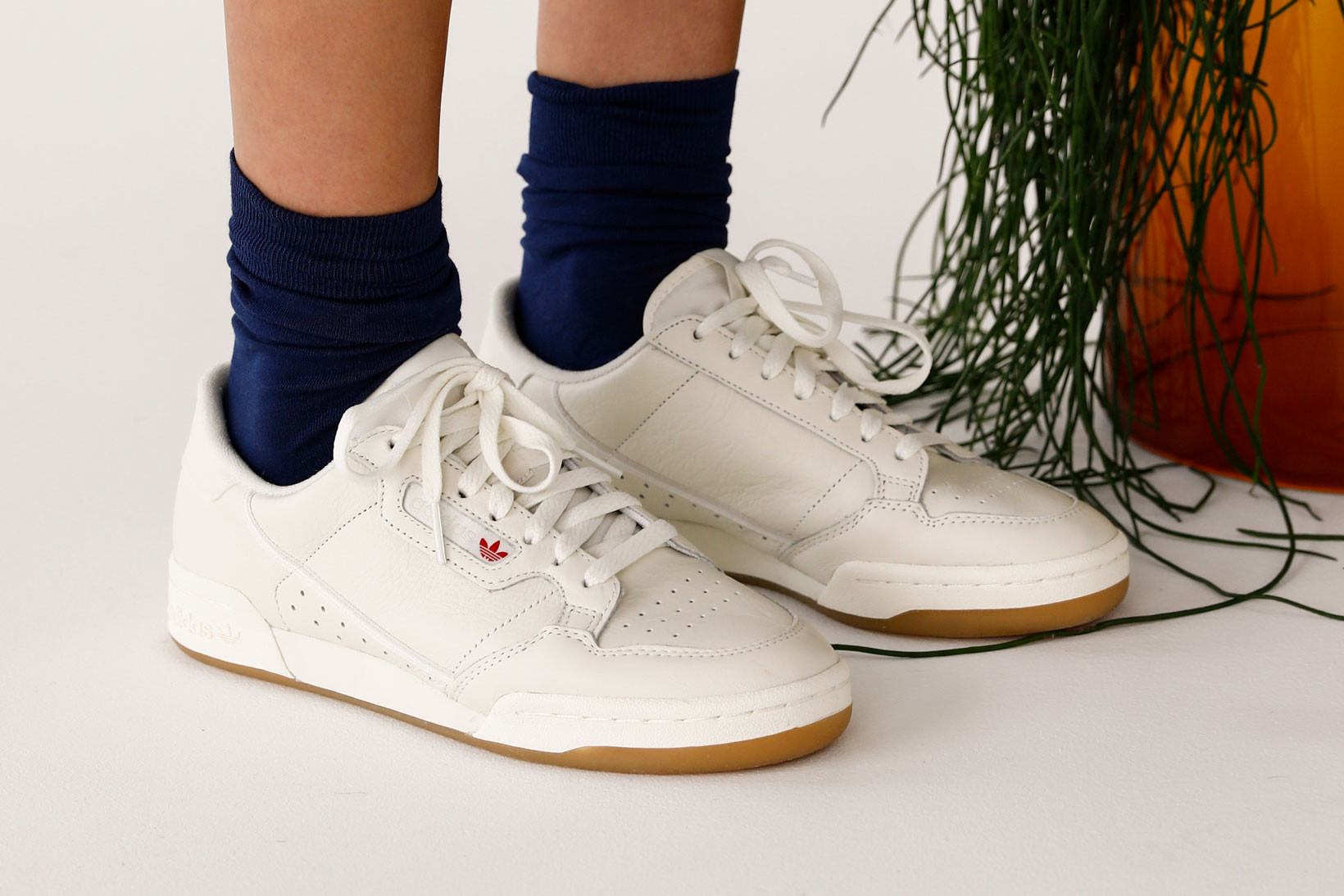 adidas Continental 80 On-Foot Editorial