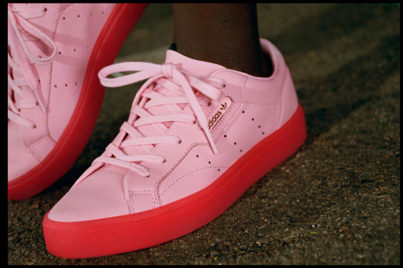adidas Originals Sleek Pink Red Yellow Pastel Blue