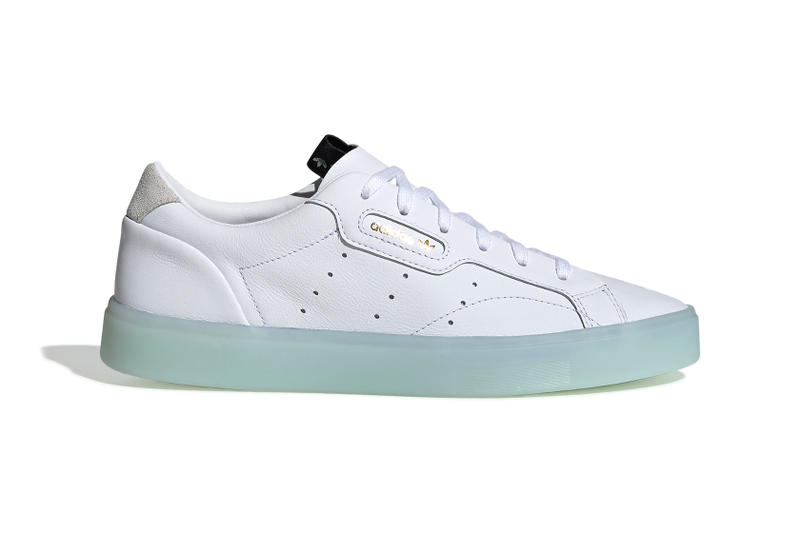 adidas Originals Sleek White Blue Sole Black Hypersleek Off-White
