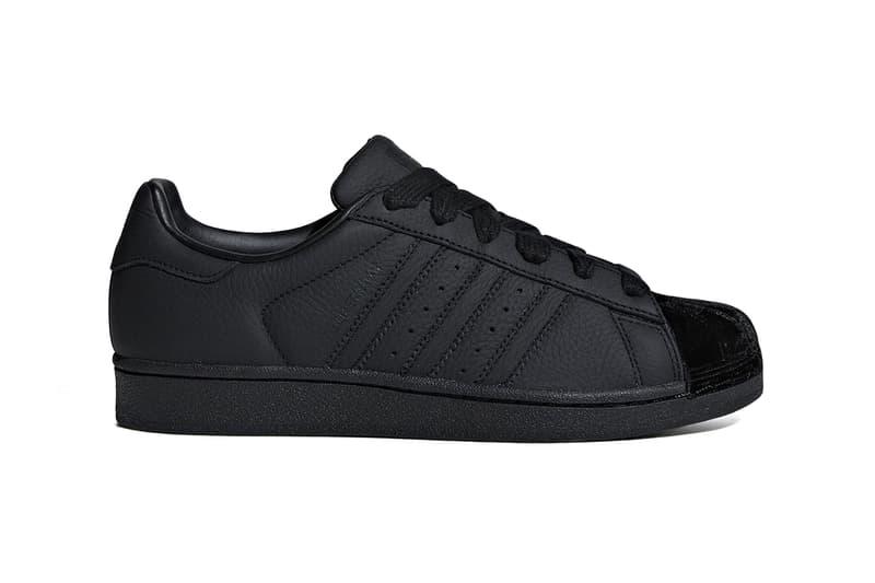 adidas Originals Superstar Velvet Shell Toe Dusky Pink Blue Black Off White