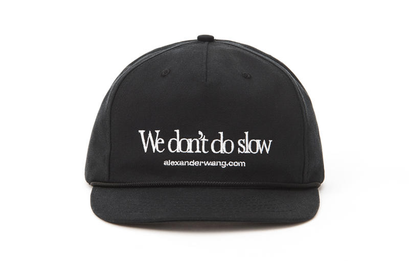 Alexander Wang dot com Collection Cap Black