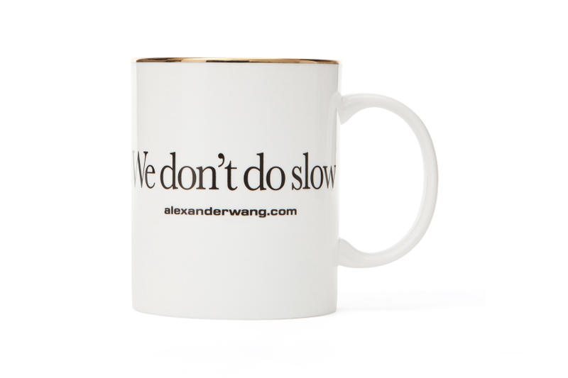 Alexander Wang dot com Collection Mug White