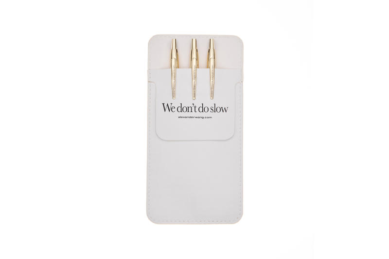 Alexander Wang dot com Collection Pen Set Gold