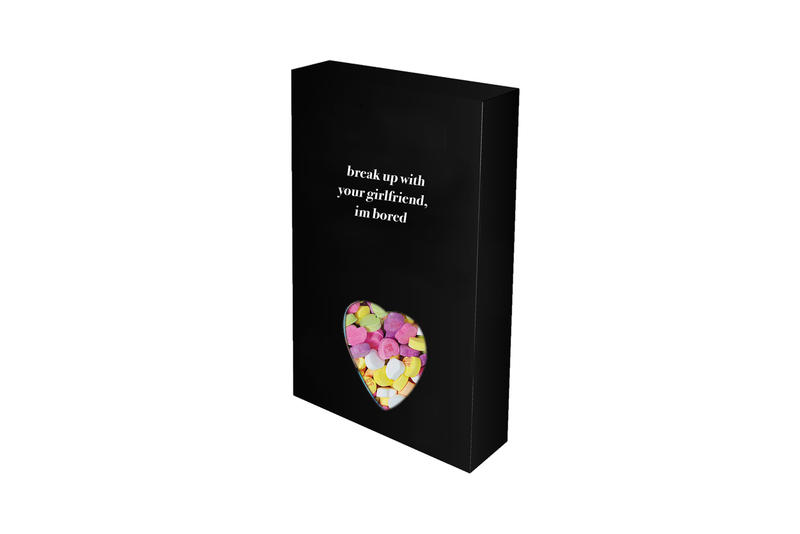 Ariana Grande Merch Drop 2 break up with your gf Candy Hearts Black