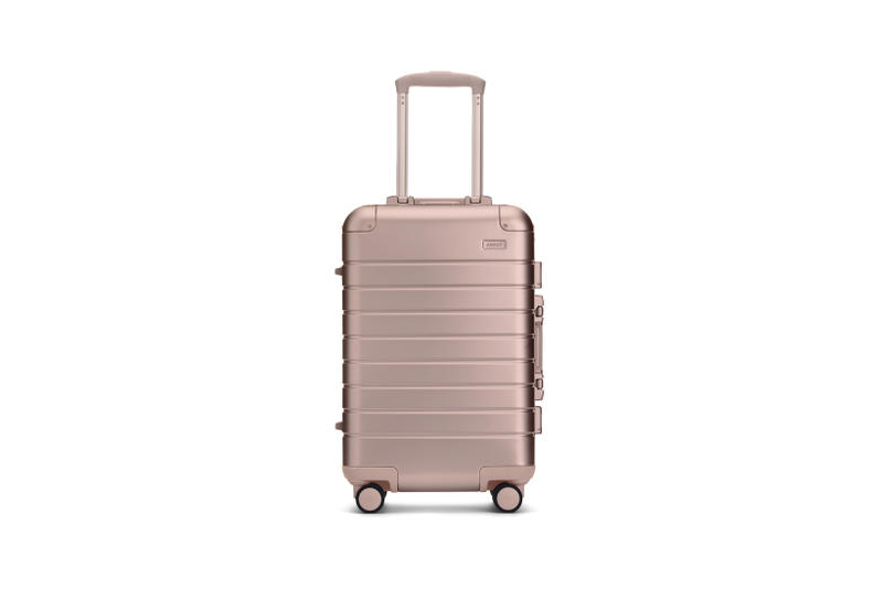 Away Alchemy Collection Suitcases Carry On Rose Gold