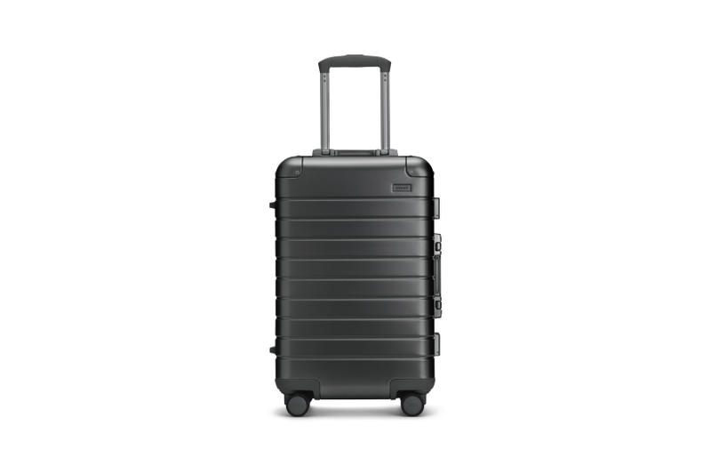 Away Alchemy Collection Suitcases Big Carry On Steel