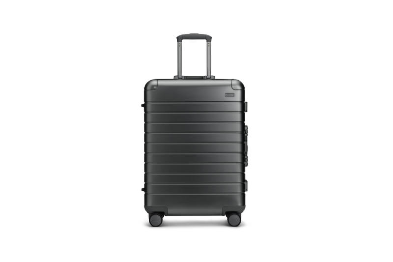 Away Alchemy Collection Suitcases Medium Steel