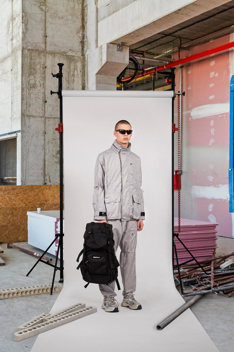 Axel Arigato Launches First Ready-to-Wear Collection Range Lookbook Shoot Technical Gear HYPERSPEED