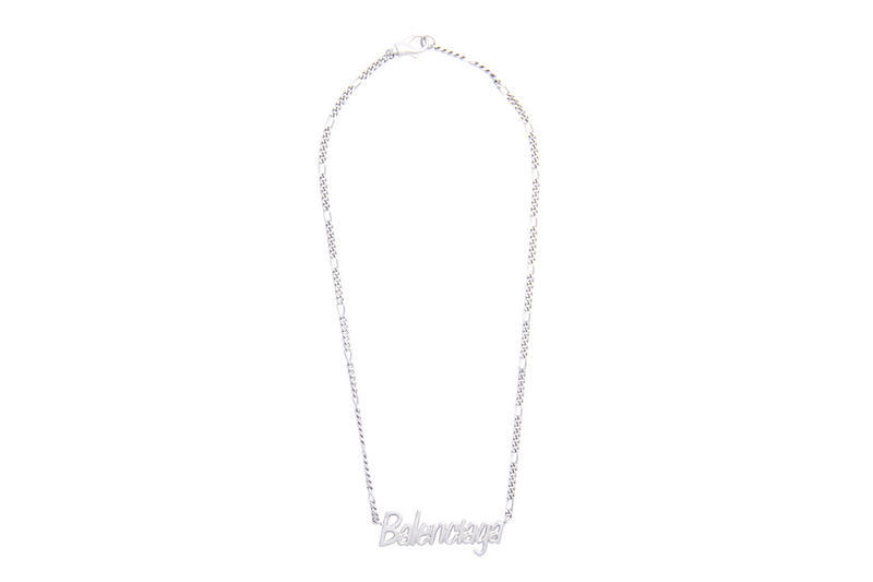 Balenciaga Nameplate Necklace