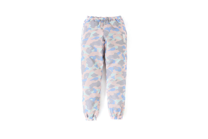 BAPE Pastel Camouflage Collection Sweatpants Pink Purple