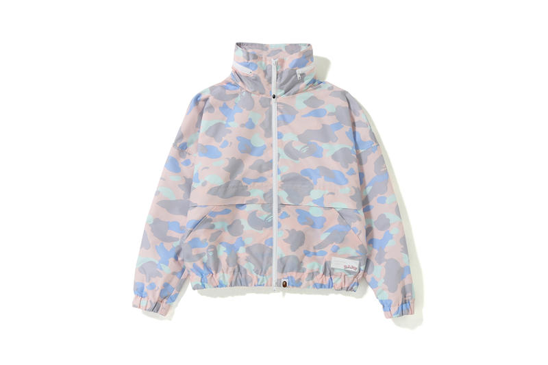 BAPE Pastel Camouflage Collection Jacket Pink Purple