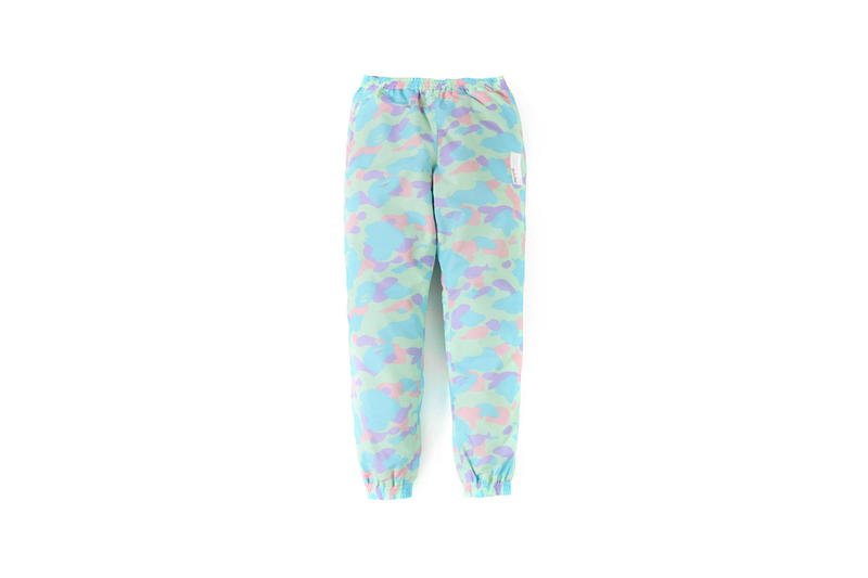 BAPE Pastel Camouflage Collection Sweatpants Blue Green