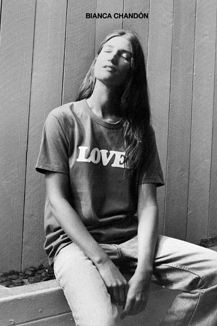 Bianca Chandon LOVER Hoodie T Shirt