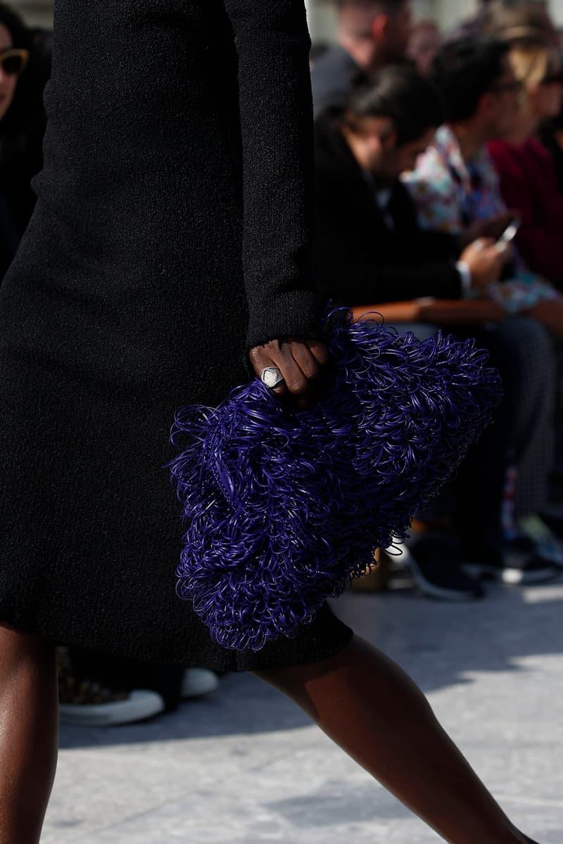 Bottega Veneta Milan Fashion Week Fall Winter 2019 FW19 Daniel Lee Debut Runway Show clutch