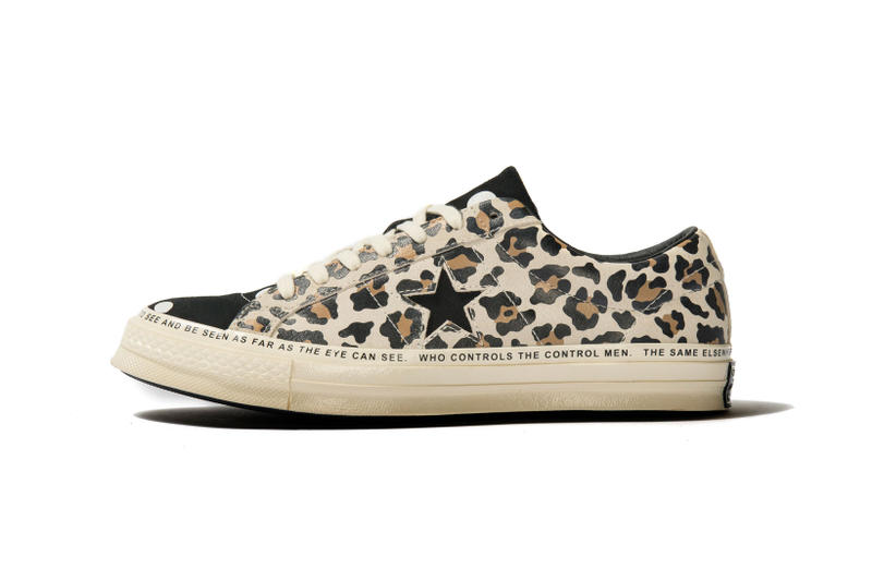 Brain Dead Converse One Star Cheetah Print Zebra Polka Dots