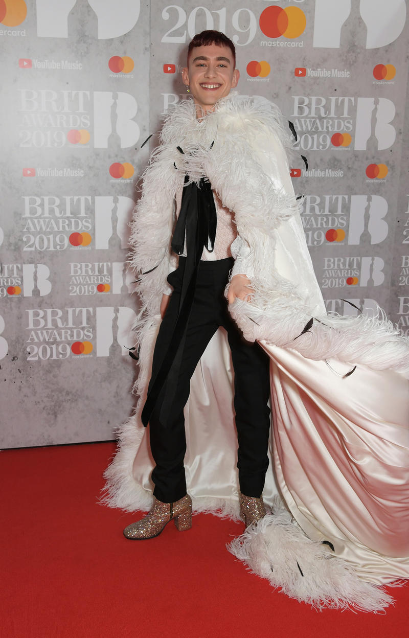 BRIT Awards 2019 Red Carpet Celebrity