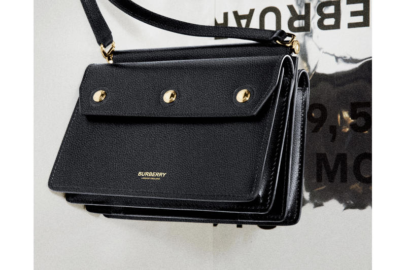 Burberry B Series Mini Title Bag Drop Release Fall Winter 2019 Runway Collection Date