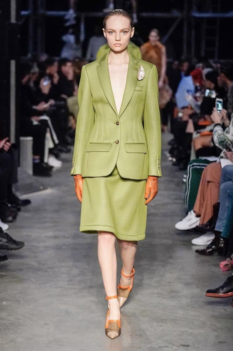 Burberry Fall/Winter 2019 London Fashion Week Show Riccardo Tisci Presentation Runway Pieces FW19 LFW