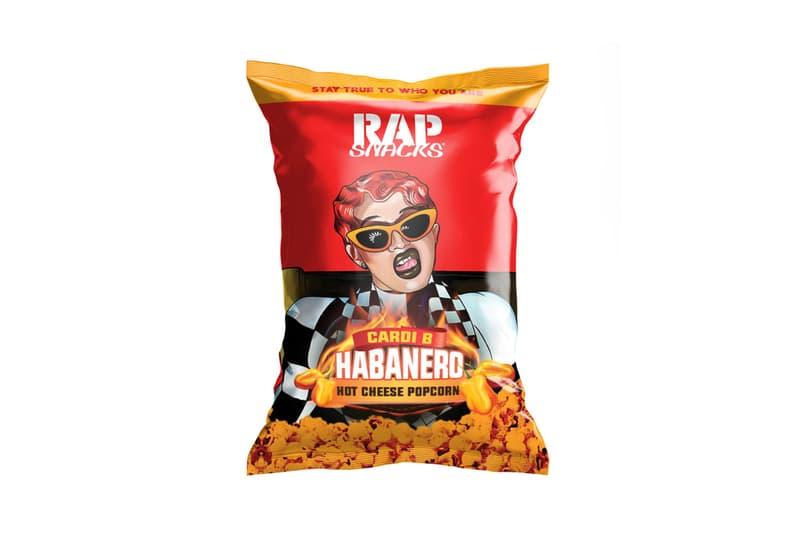 Rap Snacks Cardi B