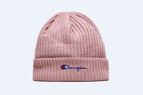 d8a0bf70ee375 Add Champion s Logo Beanie to Your Hat Rotation This Winter