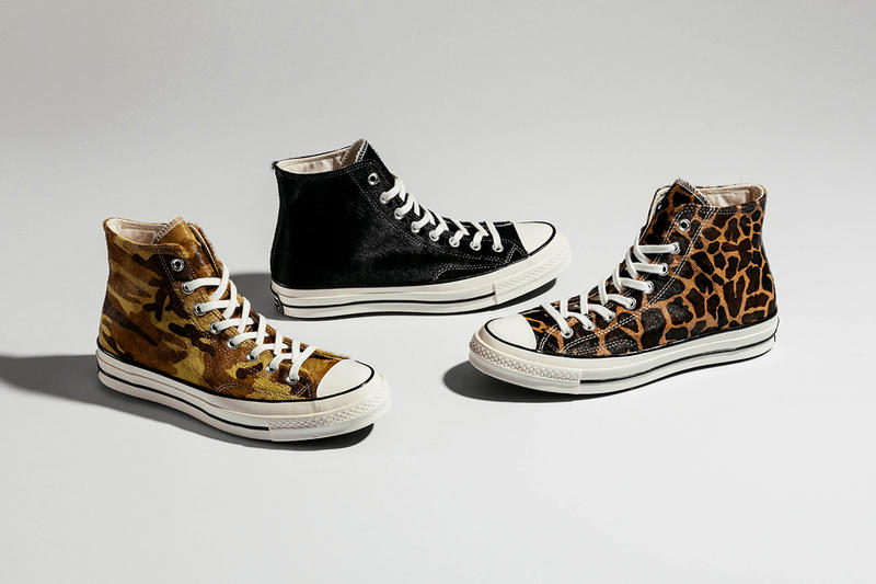 Converse Chuck 70 Pack Camouflage Leopard Print Pony Hair Brown Green Black