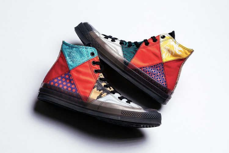 78526addb65f11 Converse s Chuck Taylor All Star Gets a Patchwork Makeover