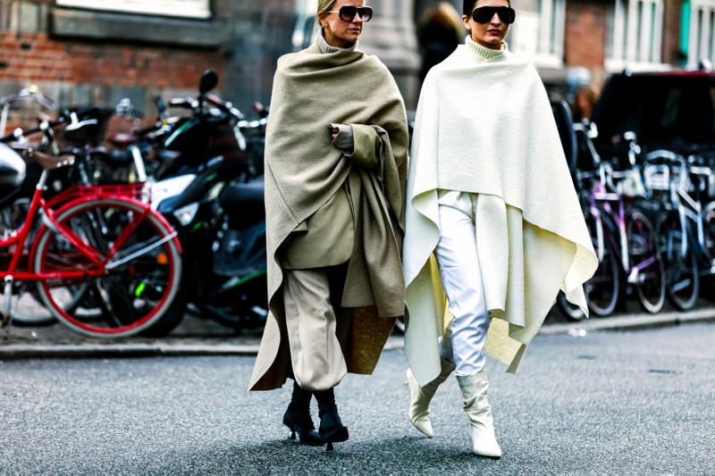 Copenhagen Fashion Week FW19 Streetstyle Snaps Jackets White Tan