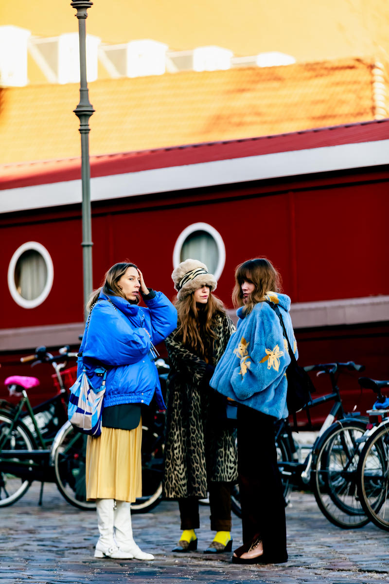 Copenhagen Fashion Week FW19 Streetstyle Snaps Jackets Blue