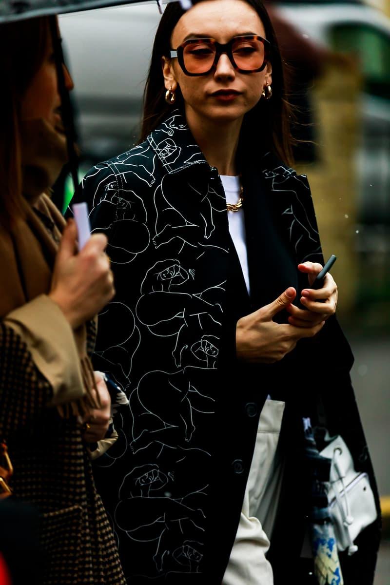 Copenhagen Fashion Week FW19 Streetstyle Snaps Jacket Black