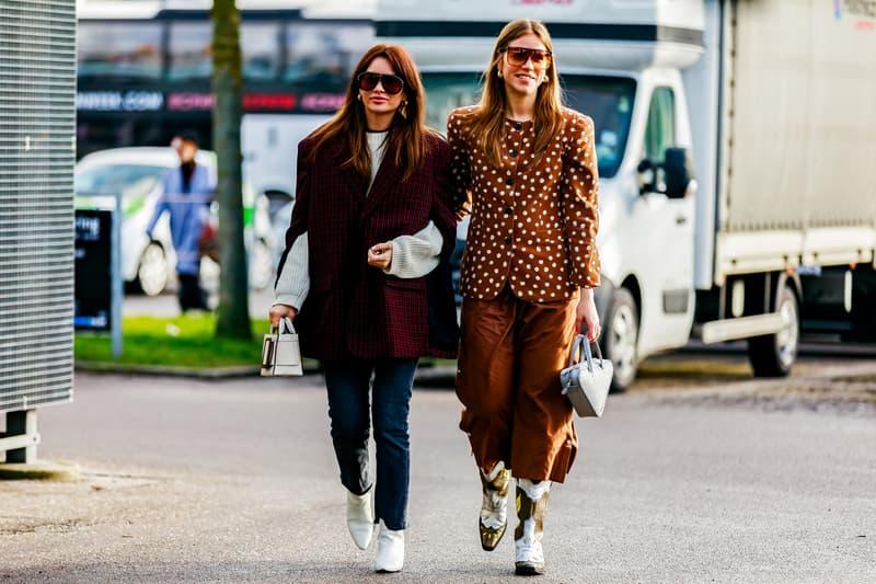Copenhagen Fashion Week FW19 Streetstyle Snaps Jackets Brown Black