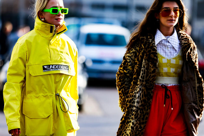 Copenhagen Fashion Week FW19 Streetstyle Snaps Jackets Yellow Leopard
