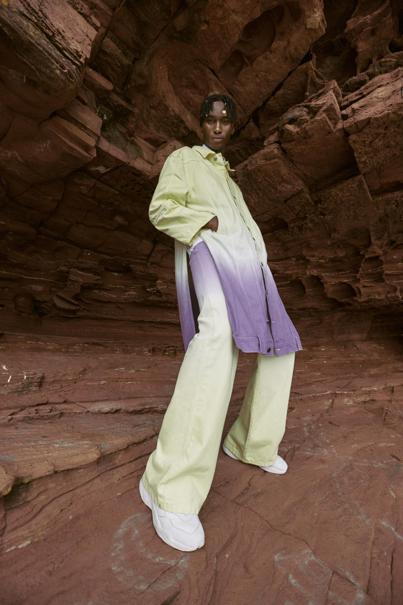 Daily Paper Spring Summer 2019 Campaign Jacket Pants Green Purple