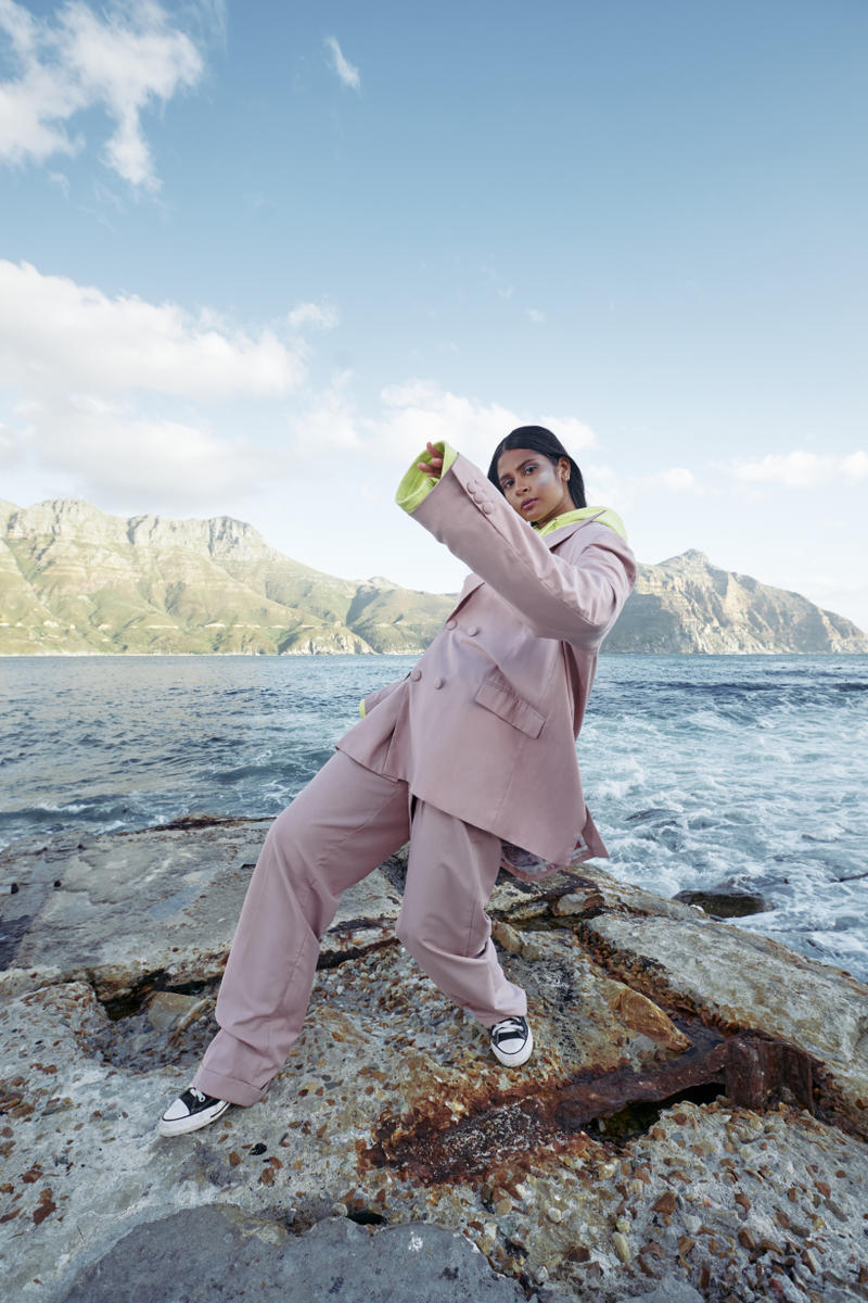 Daily Paper Spring Summer 2019 Campaign Suit Pink