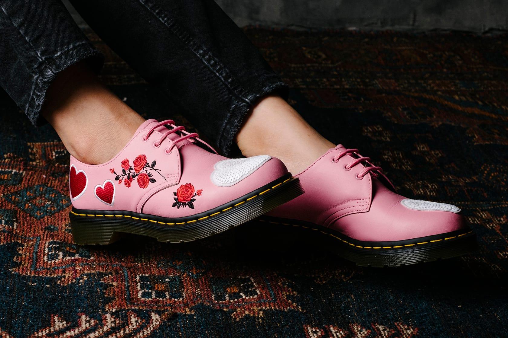 pink dr martens